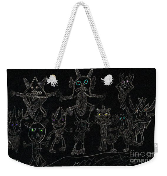 The Haunted Farmhouse Weekender Tote Bag