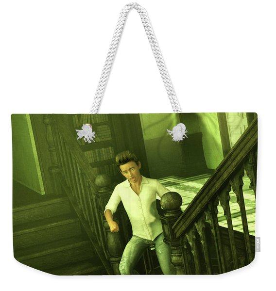 The Haunted Manor Weekender Tote Bag
