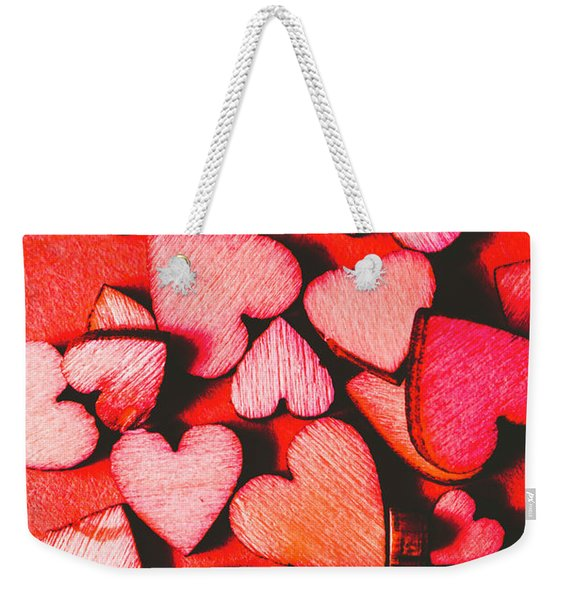 The Heart Of Decor Weekender Tote Bag