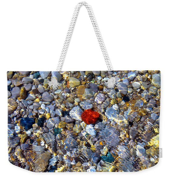 The Heart Of Lake Michigan Weekender Tote Bag