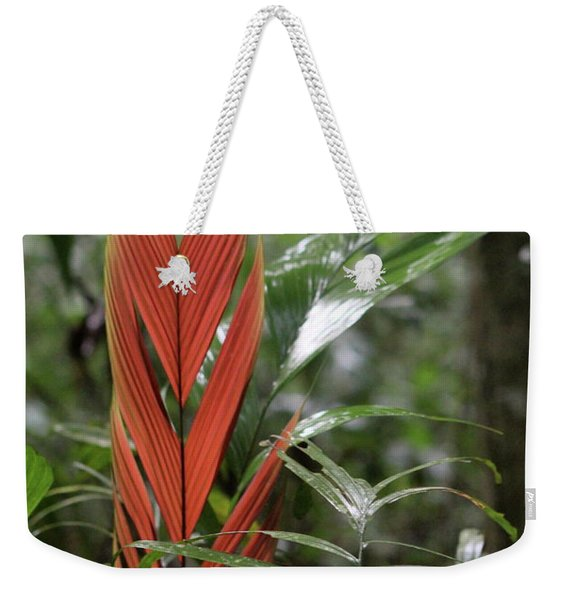The Heart Of The Amazon Weekender Tote Bag
