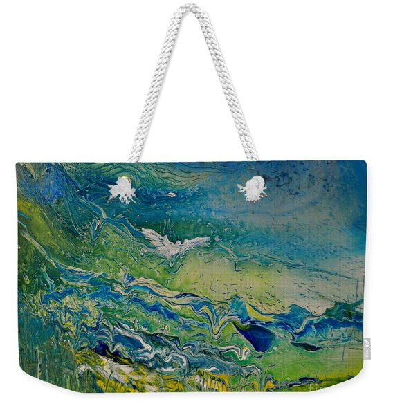 The Heavens And The Eart Weekender Tote Bag