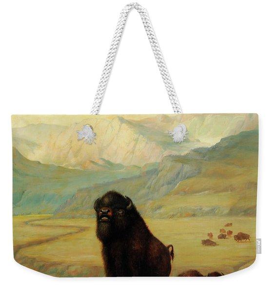 The Herd Bull Weekender Tote Bag