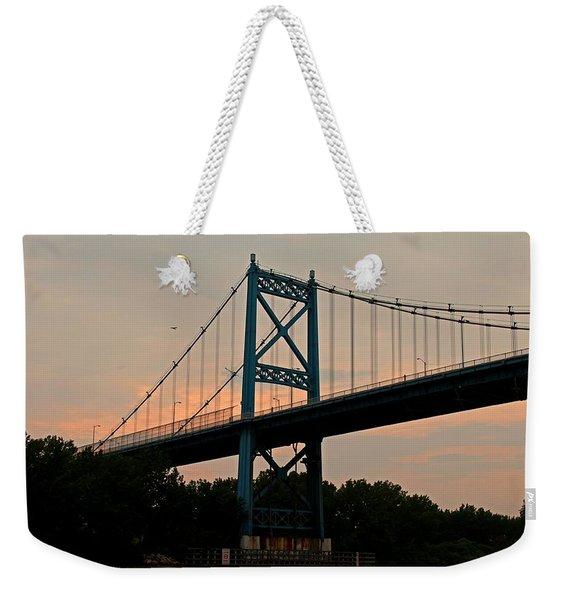 The High Level Aka Anthony Wayne Bridge I Weekender Tote Bag