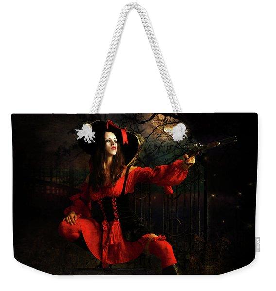 The Highway Woman Weekender Tote Bag