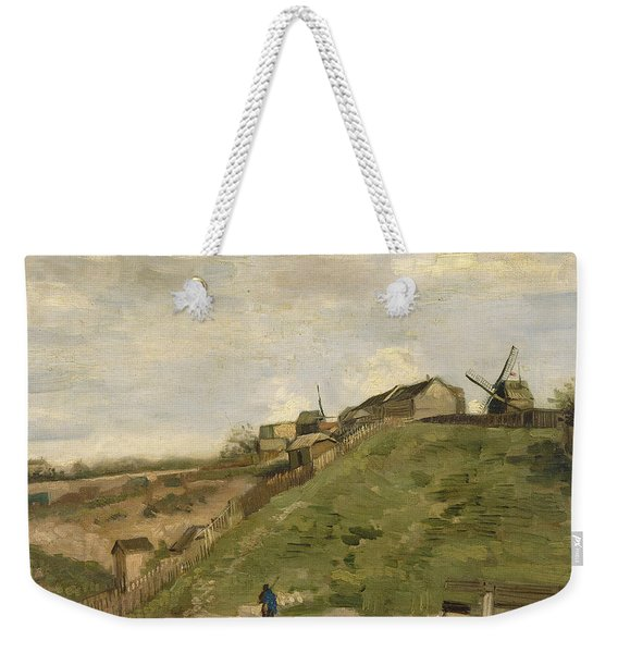 The Hill Of Montmartre With Stone Quarry Weekender Tote Bag