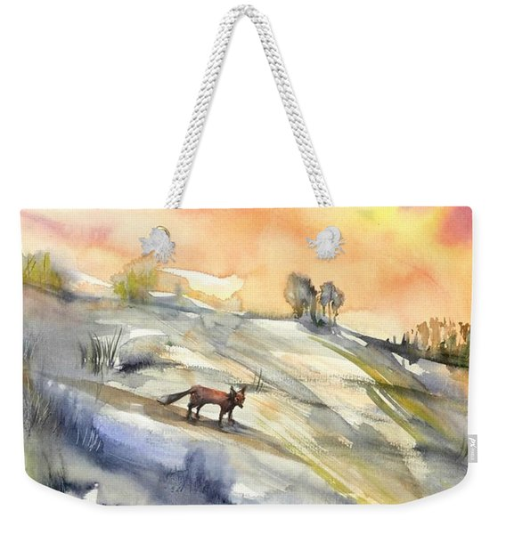 The Hill Of The Foxes Weekender Tote Bag