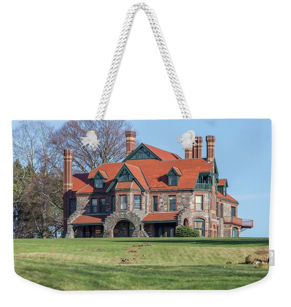 The Historic Eustis Estate In Milton Massachusetts Weekender Tote Bag