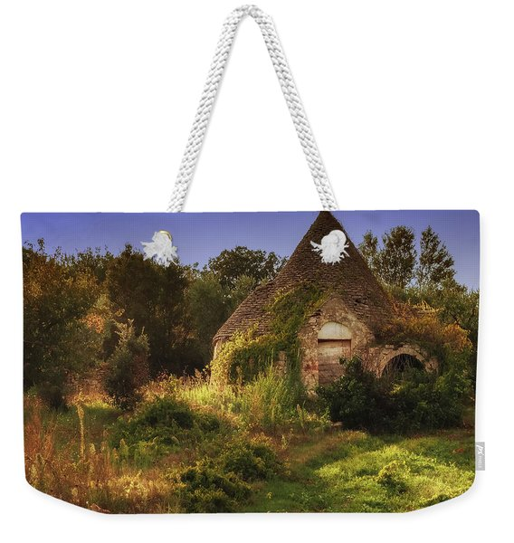 Weekender Tote Bag featuring the photograph The Hobbit House by Robin Zygelman