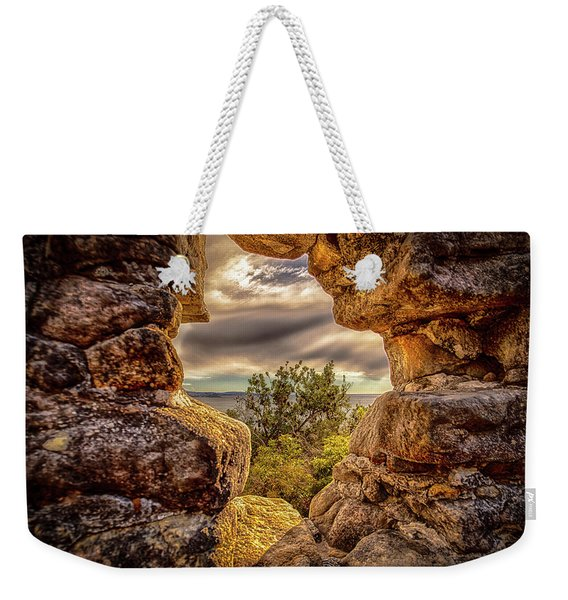The Hole In The Wall Weekender Tote Bag