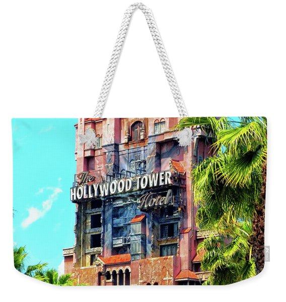 The Hollywood Tower Hotel Walt Disney World Pm Weekender Tote Bag