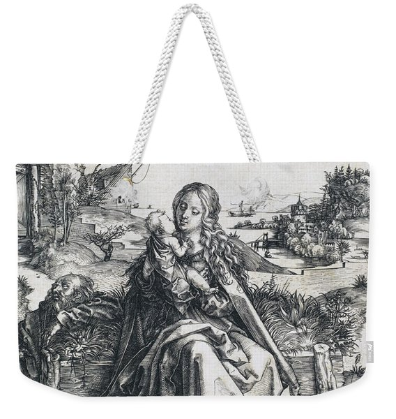 The Holy Family With The Mayfly Weekender Tote Bag