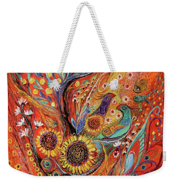 The Holy Land Autumn Weekender Tote Bag