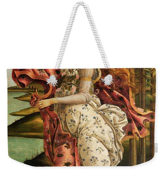 The Hora Of Spring Weekender Tote Bag