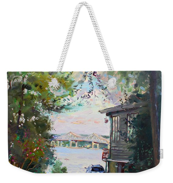 The House By The River Weekender Tote Bag