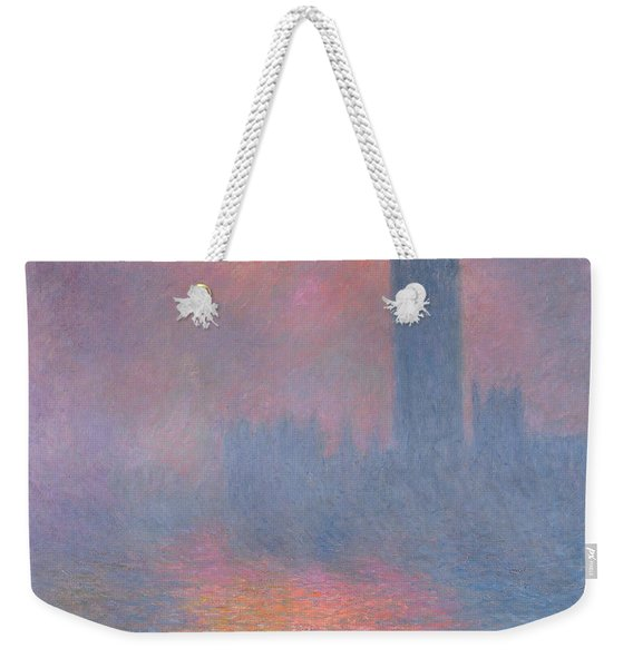 The Houses Of Parliament London Weekender Tote Bag