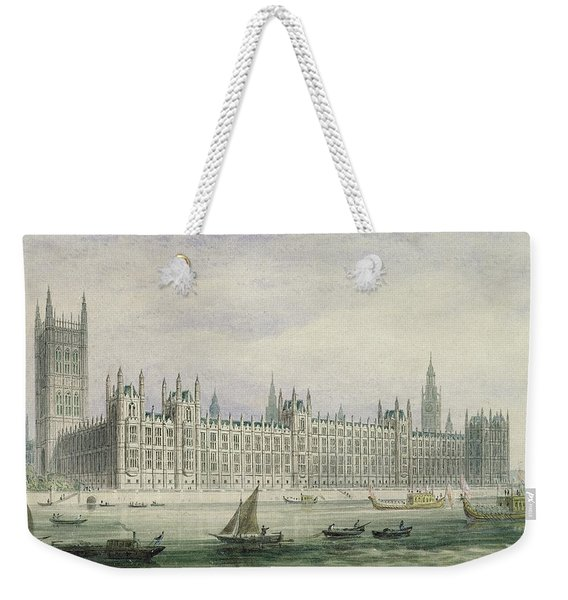 The Houses Of Parliament Weekender Tote Bag