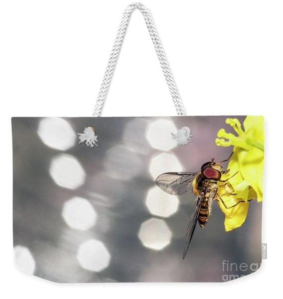 The Hoverfly Weekender Tote Bag