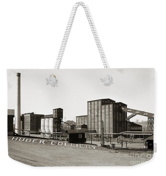 The Huber Colliery Ashley Pennsylvania 1953 Weekender Tote Bag