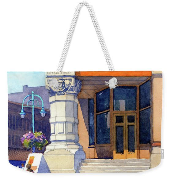 The Hudson Weekender Tote Bag