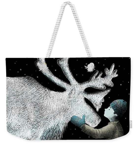 The Ice Garden Weekender Tote Bag