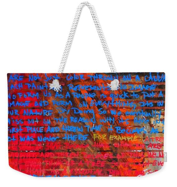 The Idea 2 Weekender Tote Bag