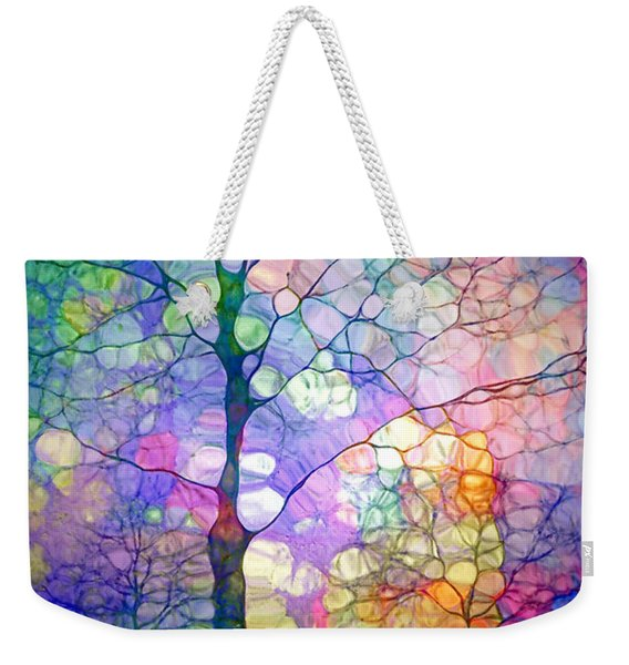 The Imagination Of Trees Weekender Tote Bag