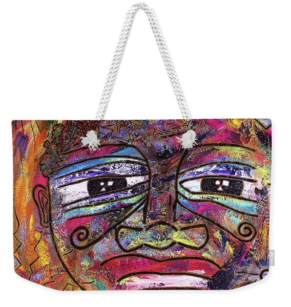 The Indigo Child Weekender Tote Bag