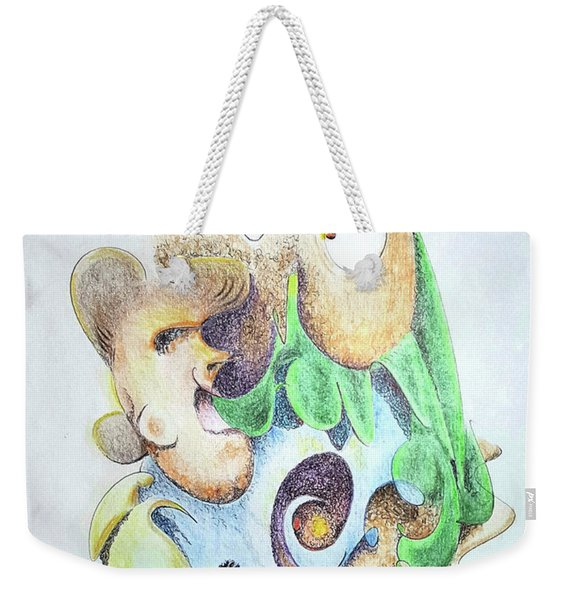 The Infection Weekender Tote Bag