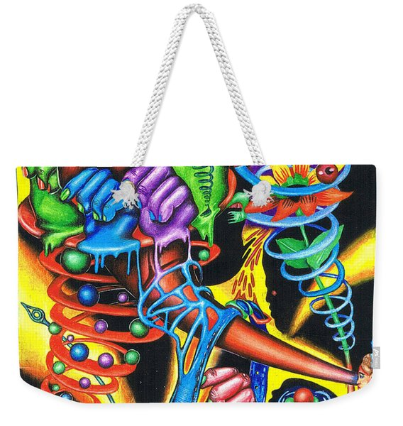 The Infinite Expansion Of A Cosmic Revelation Weekender Tote Bag