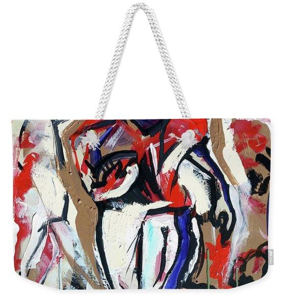 The Interception Weekender Tote Bag
