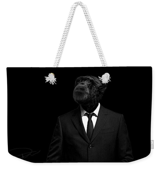 The Interview Weekender Tote Bag