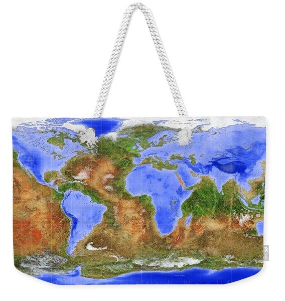 The Inverted World Weekender Tote Bag