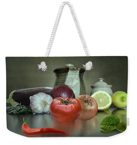The Italian Kitchen Weekender Tote Bag