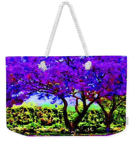The Jacaranda Weekender Tote Bag