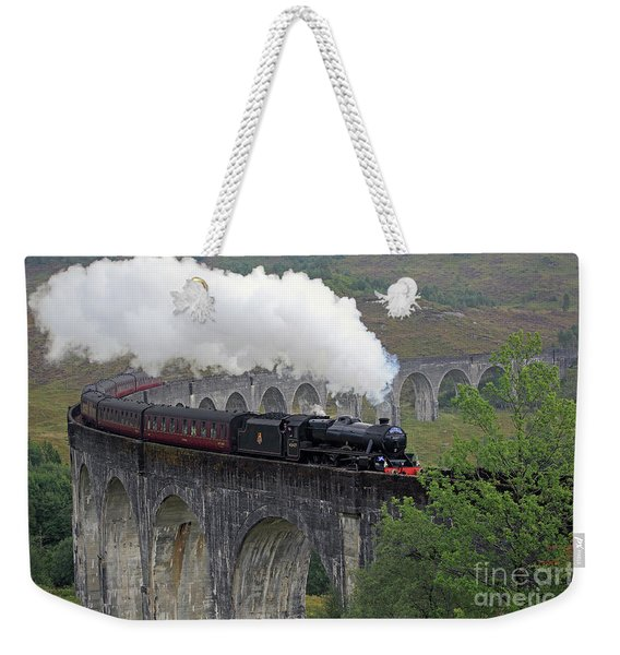 The Jacobite Steam Train Weekender Tote Bag