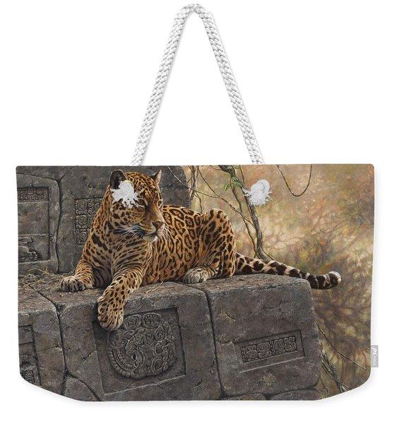 The Jaguar King Weekender Tote Bag