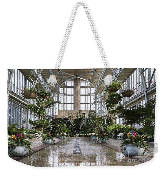 The Jewel Box Fountain Weekender Tote Bag