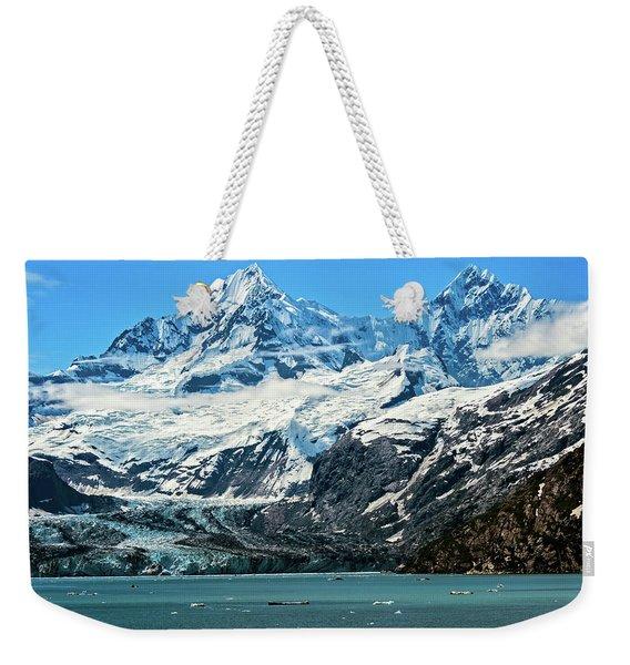 The John Hopkins Glacier Weekender Tote Bag
