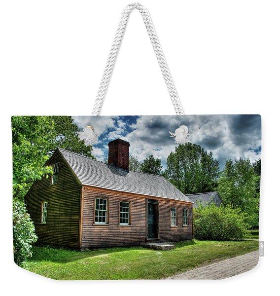 The John Wells House In Wells Maine Weekender Tote Bag