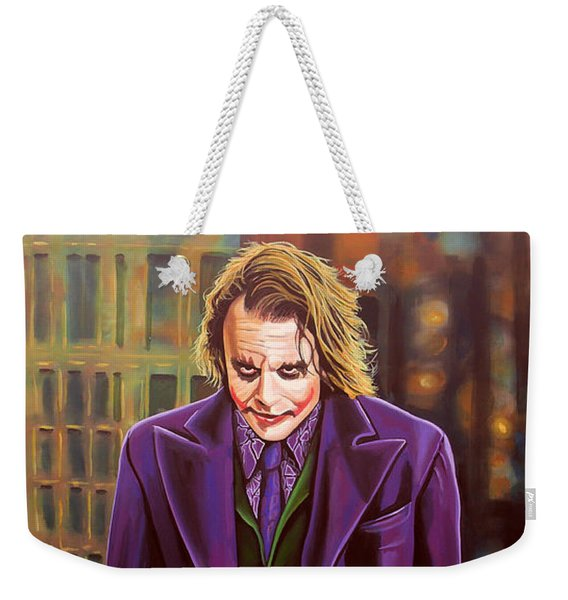 The Joker In Batman  Weekender Tote Bag