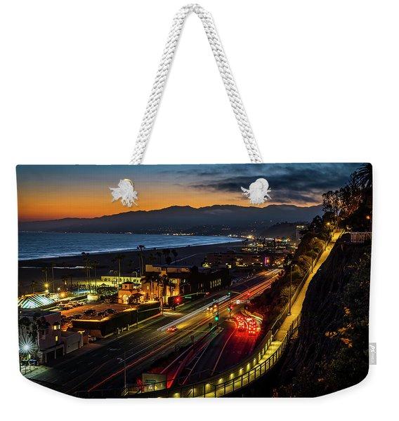 The Jonathan Beach Club - Night  Weekender Tote Bag