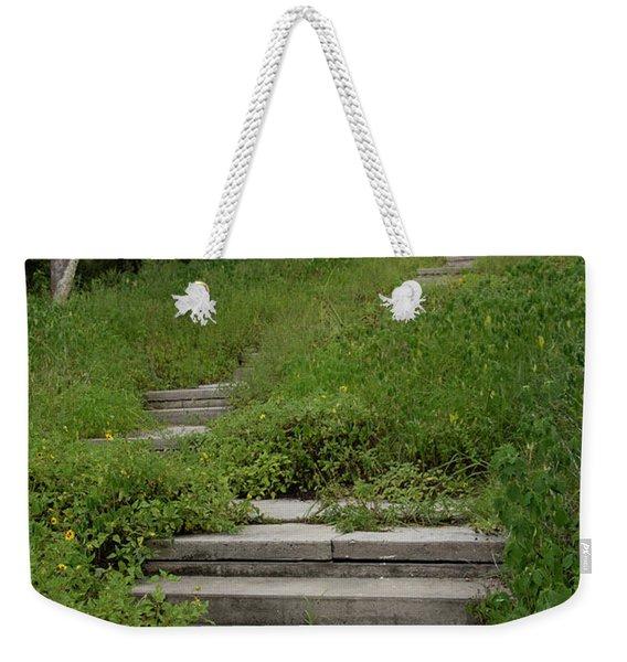 The Journey Secret Steps Weekender Tote Bag
