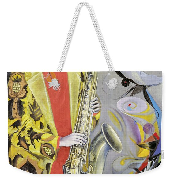 The Joy Of Autumn  Weekender Tote Bag