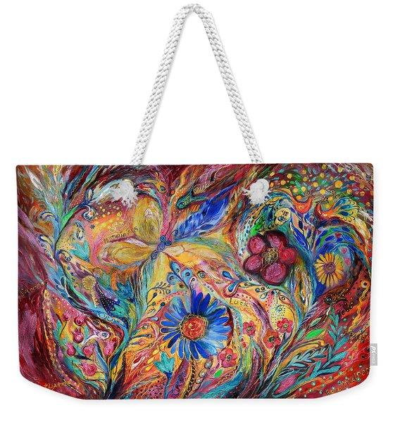 The Joyful Iris Weekender Tote Bag
