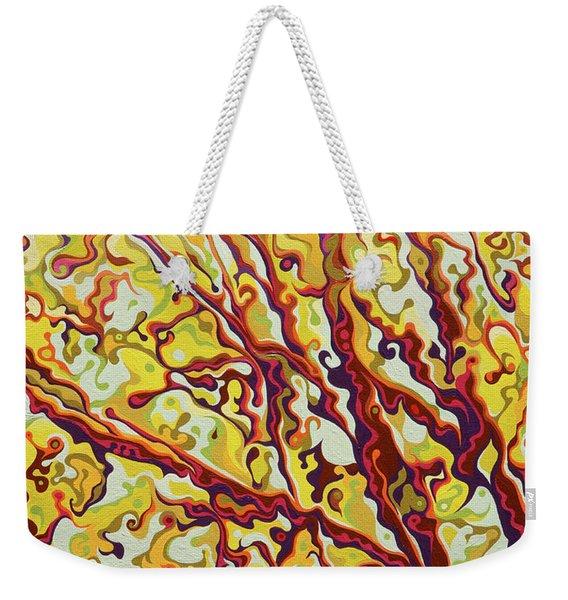 The Joyful Treelease Weekender Tote Bag
