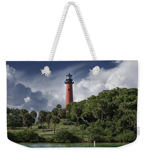The Jupiter Inlet Lighthouse Weekender Tote Bag