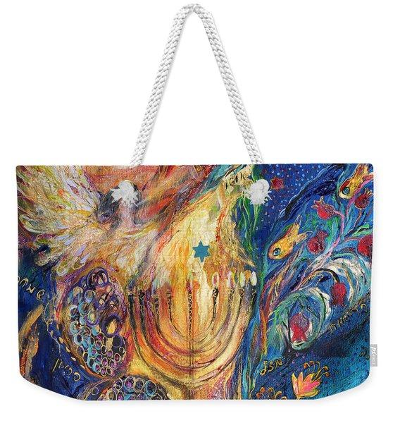 The Keeper Of Menorah Weekender Tote Bag
