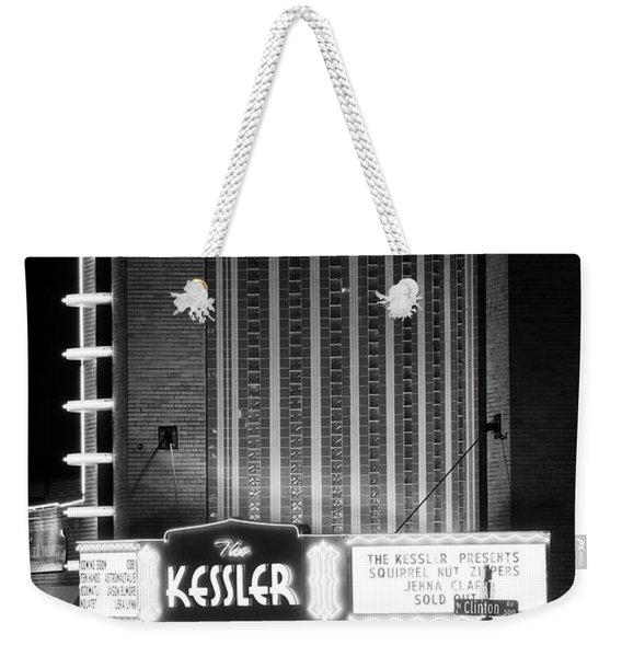 The Kessler V2 091516 Bw Weekender Tote Bag