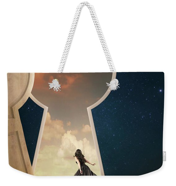 Curiouser And Curiouser Weekender Tote Bag